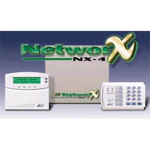 Bộ báo trộm báo cháy trung Tâm GE NetworX NX-16, đại lý, phân phối,mua bán, lắp đặt giá rẻ